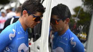 Edu Prades en el Tour Down Under de este año.