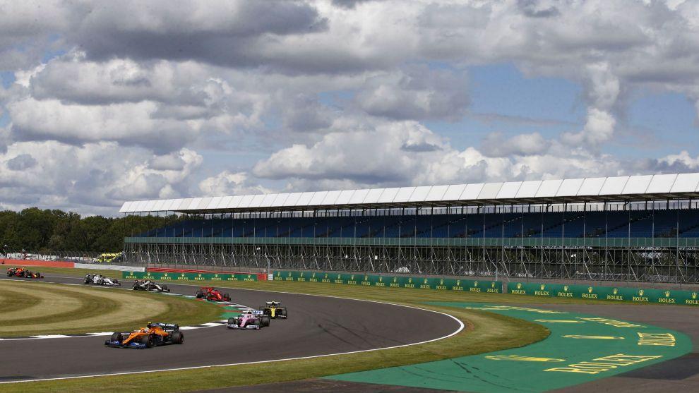 F1 - GP 70 Aniversario: horario y donde ver en TV el mundial de...