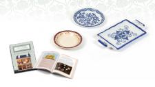 Colección Casa de muñecas. Sábado 15 Menaje de Porcelana 8,99¤
