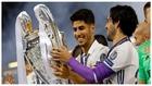 Asensio e Isco, con la Champions ganada por el Madrid en 2017