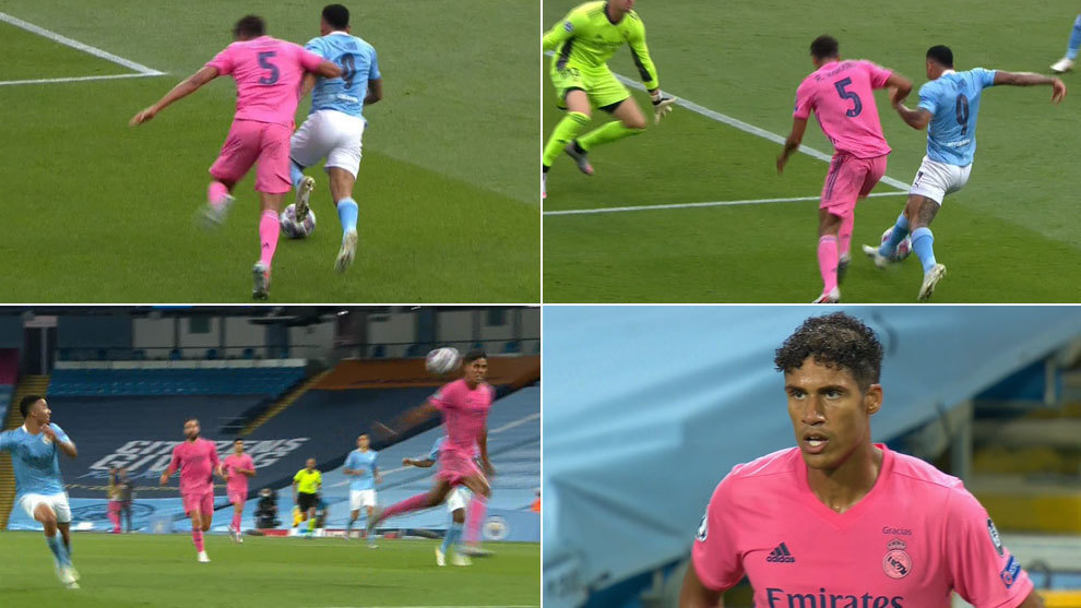 Varane gifts Manchester City two goals