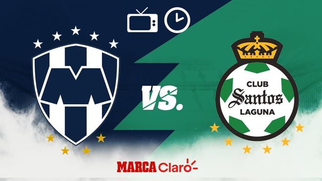 Monterrey vs Santos: Horario y dónde ver en vivo el partido.
