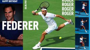 El homenaje de la ATP a Federer