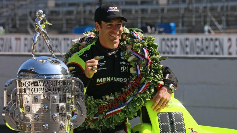 Simon Pagenaud, ganador de la Indy 500 2019.