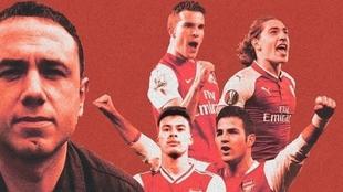 Francis Cagigao y el Arsenal separan sus caminos 24 años después