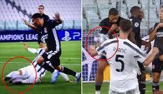 Juzga tú mismo: ¿cómo se pueden pitar estos dos penaltis en el Juventus-Lyon?