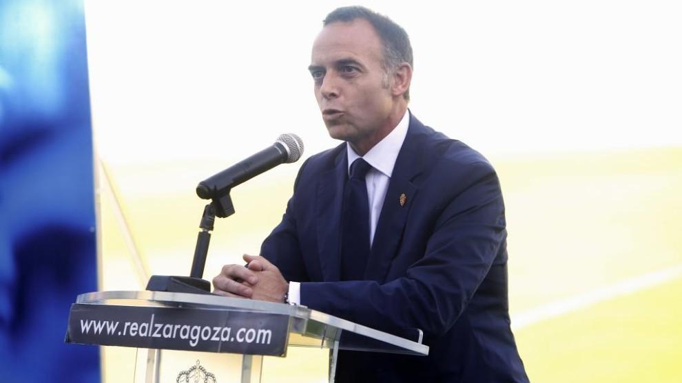 El Zaragoza solicita al CSD la suspensión del playoff