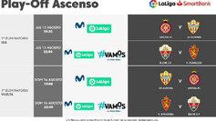 Horarios de la primera eliminatoria de los playoffs de ascenso a LaLiga Santander