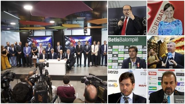 Presidentes del fútbol profesional: Sevilla, Betis, Villarreal,...