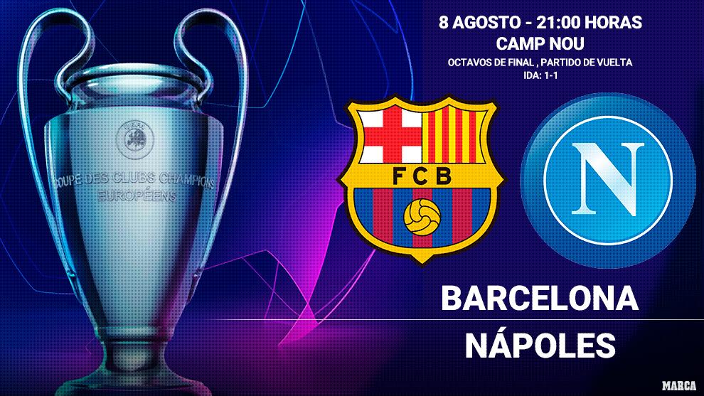 Alineaciones confirmadas del FC Barcelona - Napoli: Ni Ansu ni Riqui