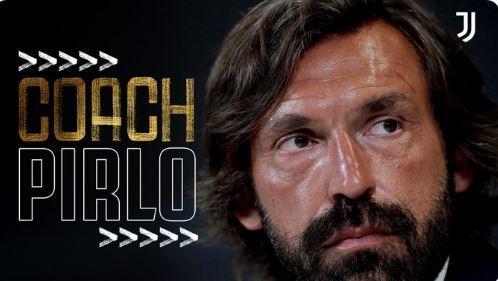 Imagen del anuncio del fichaje de Pirlo como entrenador de la...