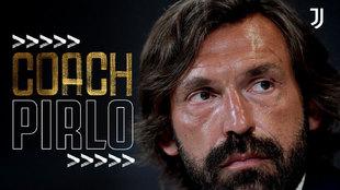 Oficial: ¡Andrea Pirlo, nuevo entrenador de la Juve!