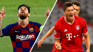 Barcelona y Bayern vencen al Napoli y Chelsea para instalarse en...