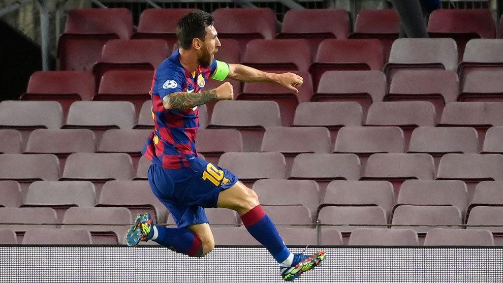 Messi vuela hacia Lisboa