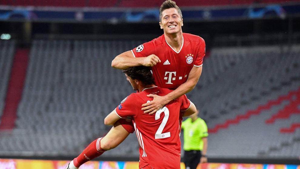 El Bayern y Lewandowski siguen metiendo miedo