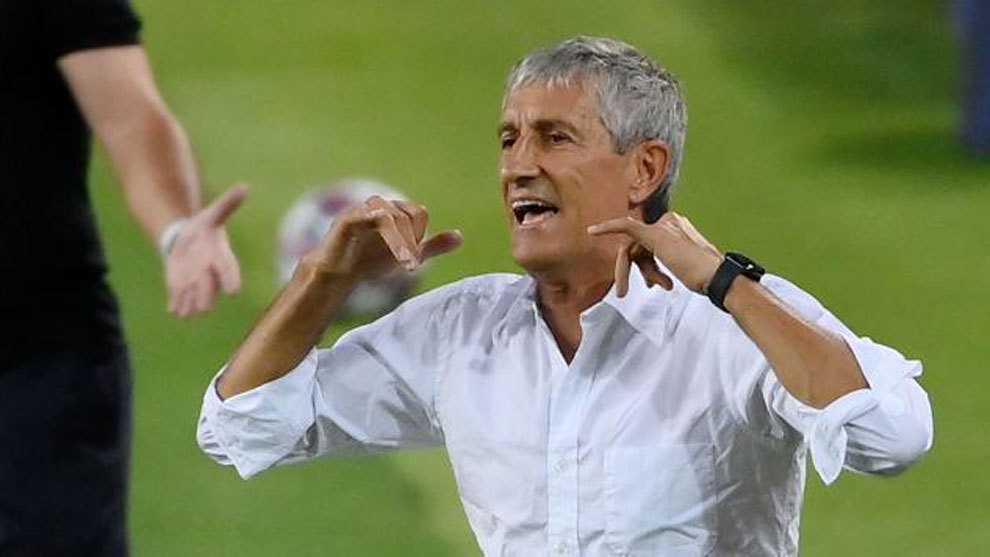 Setien: The game against Bayern Munich will be difficult for Barcelona and for them