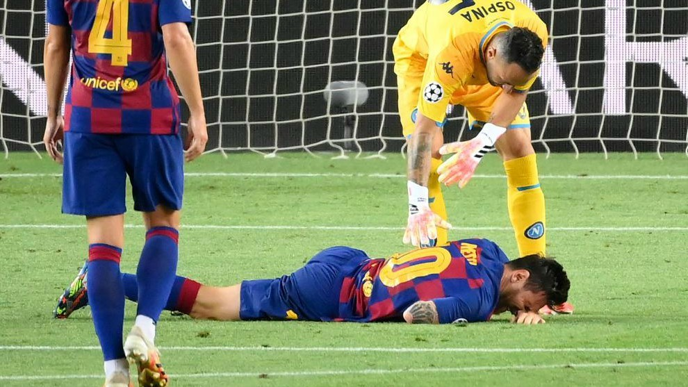 False alarm: Messi's knock not serious and he will be fine for Bayern Munich