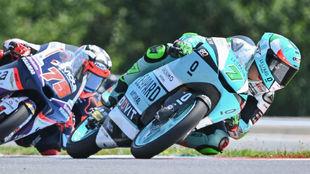 Foggia lidera delante de Arenas en Brno.