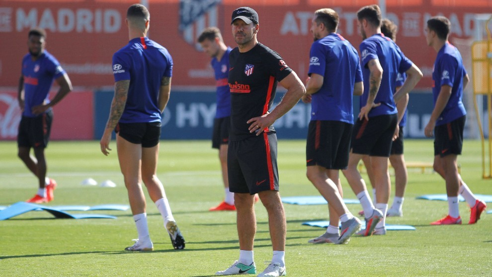 Champions League Setback As Atletico Madrid Report Two Positive Coronavirus Cases