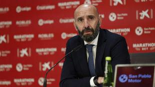 Monchi (51), director general deportivo del Sevilla.