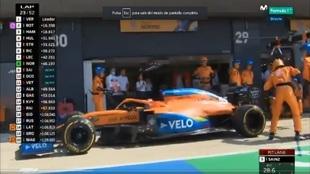 Otra pifia de McLaren con Sainz... y ya van tres
