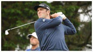Jon Rahm, en la última jornada del PGA Championship