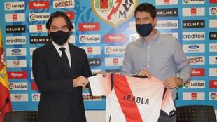 Andoni Iraola, nuevo entrenador del Rayo Vallecano