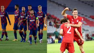 Barcelona y Bayern de Munich se enfentan el viernes 14 de agosto en...