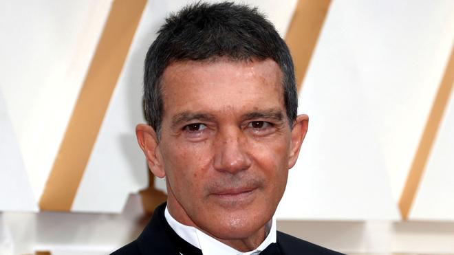 Antonio Banderas en la gala de los Premios Oscar 2020.