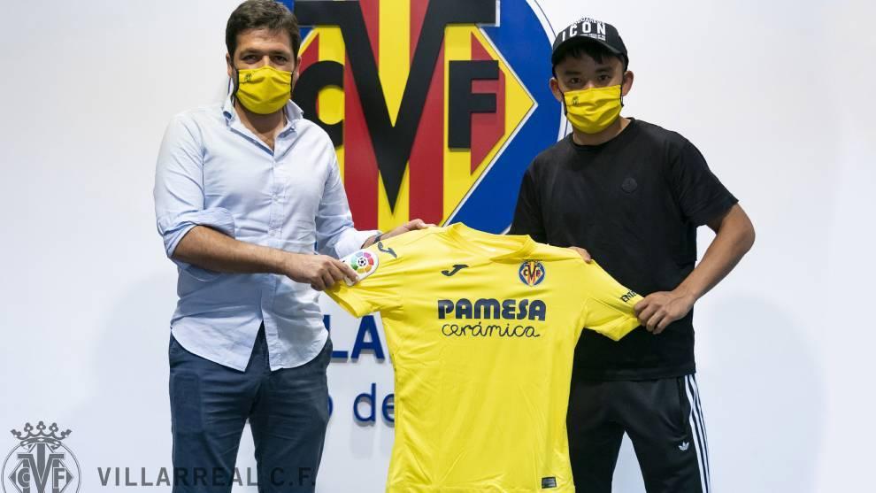 """RASMAN: Take Kubo """"Villarreal"""" futbolchisi"""