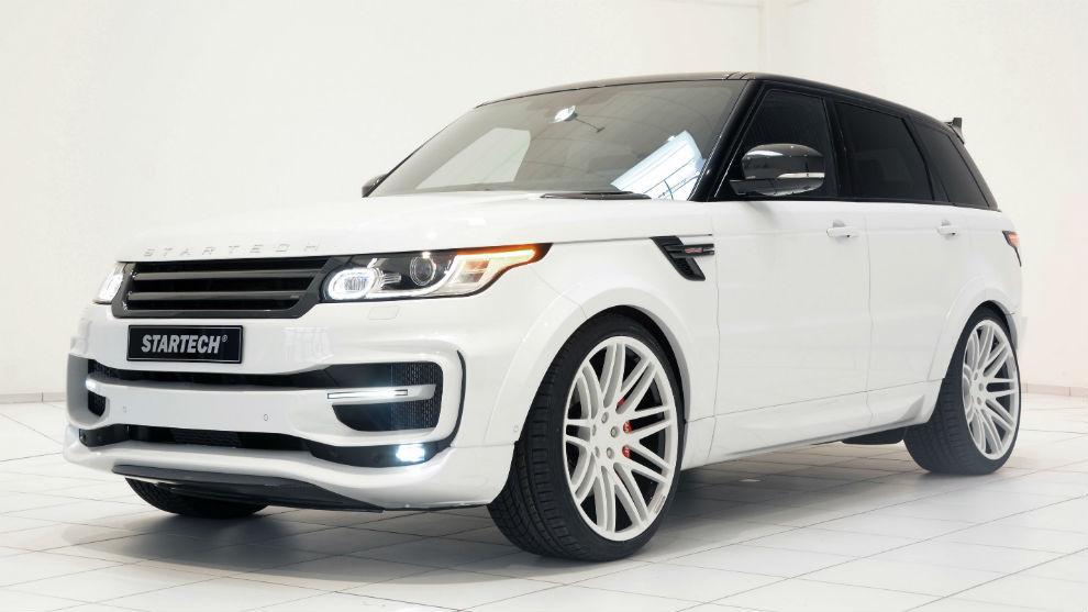 Un Range Rover Sport by Startech como el de Feliciano López.