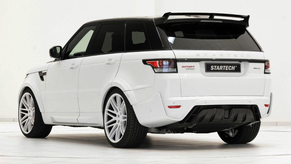 El Range Rover Sport by Startech fue presentado en el Salón de Ginebra de 2014.