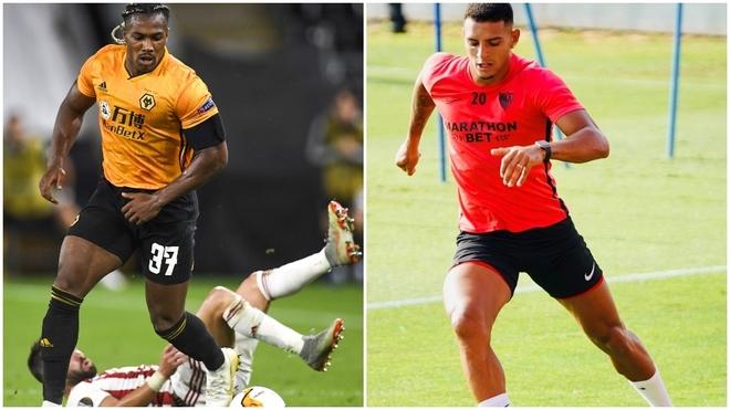 Adama Traoré y Diego Carlos.