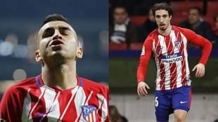 Correa y Vrsaljko, los dos positivos del Atlético