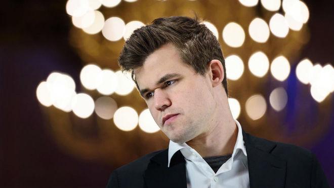 Carlsen, en la imagen