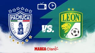 Pachuca vs León: Horario y dónde ver por TV en vivo.