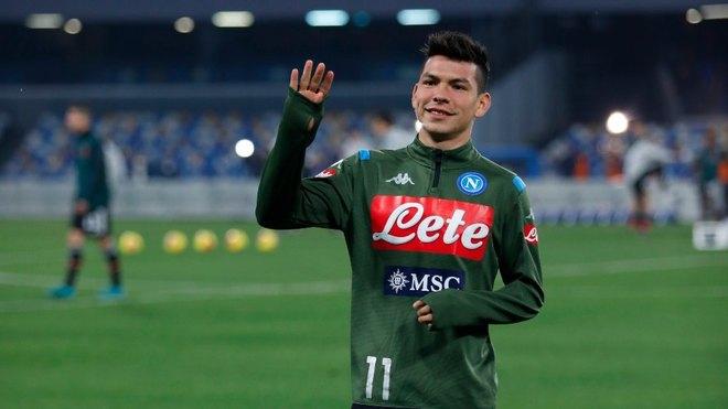 Hirving Lozano podría salir del Napoli.