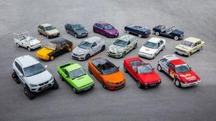 70 años de historia de Seat ha dado para crear muchos coches...