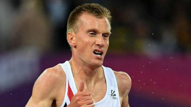Sondre Nordstad Moen, en el Mundial de atletismo de 2017.