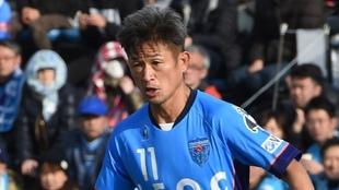 Kazuyoshi Miura, durante un partido con el Yokohama FC. TORU YAMANAKA...
