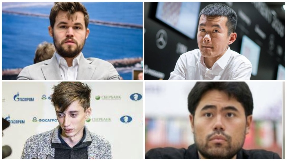 Carlsen-Ding y Dubov-Nakamura, así fue la tercera manga de semifinales