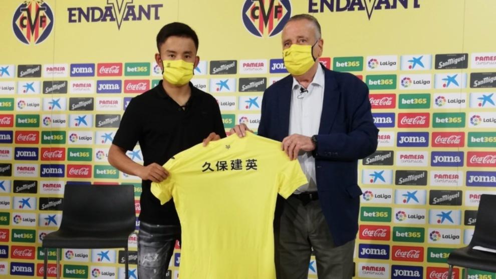 Real Madrid starlet Takefusa Kubo joins Villarreal
