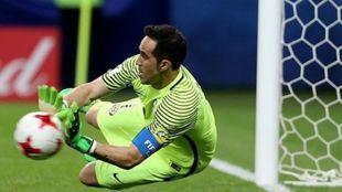 Claudio Bravo (37), guardameta del Manchester City.