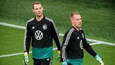 Neuer y Ter Stegen, con la selección de Alemania.