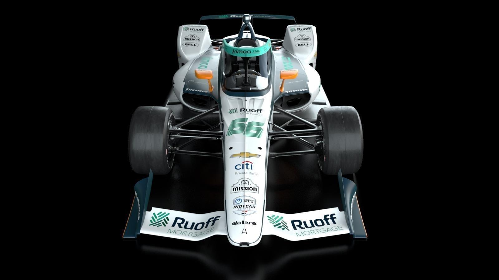 El coche de Fernando lt;HIT gt;Alonso lt;/HIT gt; para las lt;HIT gt;500 lt;/HIT gt; lt;HIT gt;Millas lt;/HIT gt; de Indianápolis 2020 Firma: Arrow McLaren SP