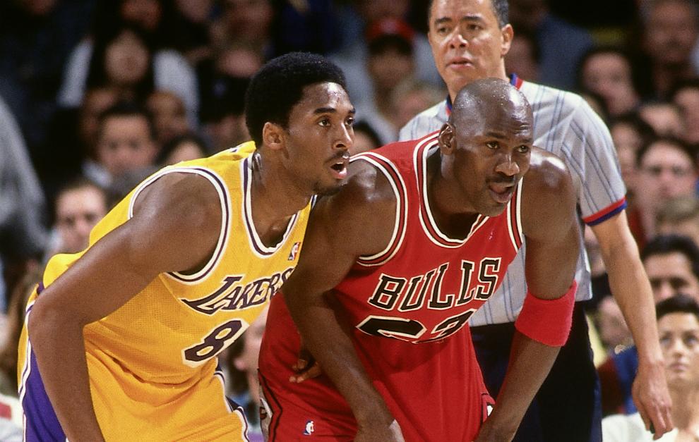 Kobe Bryant contra Michael Jordan en el Forum de Inglewood en 1998