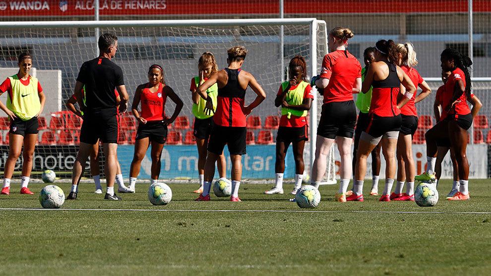 Cinco positivos en el Atlético femenino a diez días de su duelo europeo ante el Barcelona