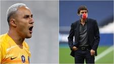 Así se enfrentó Keylor Navas a Leonardo y se ganó al vestuario del PSG