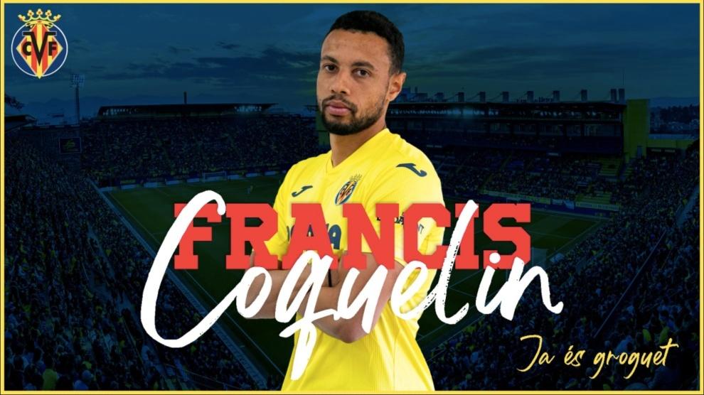 El Villarreal anuncia el fichaje de Coquelin por 8 millones