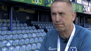 Alan Knight, embajador del Portsmouth F.C.